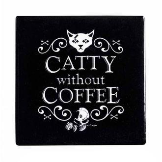 podtácek ALCHEMY GOTHIC - Catty Without Coffee - CC8