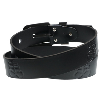 pásek Leviathan - black, Leather & Steel Fashion