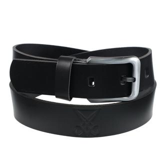 pásek Luciferi - black, Leather & Steel Fashion