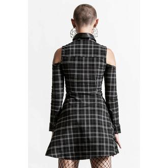 šaty dámské KILLSTAR - Chaotica - ASH TARTAN, KILLSTAR