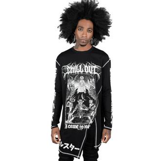 tričko unisex s dlouhým rukávem KILLSTAR - Chill Out Drape - Black, KILLSTAR