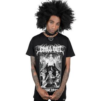 tričko unisex KILLSTAR - Chill Out - Black, KILLSTAR