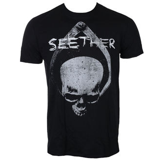tričko pánské SEETHER - SKULL - BLACK - LIVE NATION, LIVE NATION, Seether