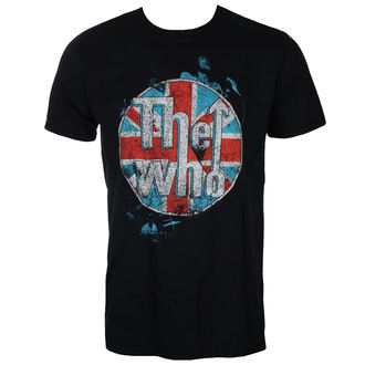 tričko pánské THE WHO - LOGO STANDING - BLACK - LIVE NATION, LIVE NATION, Who
