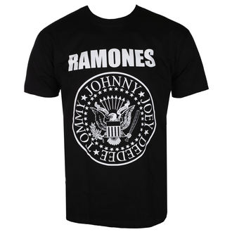 tričko pánské Ramones - First World Tour 1978 - Black - ROCK OFF