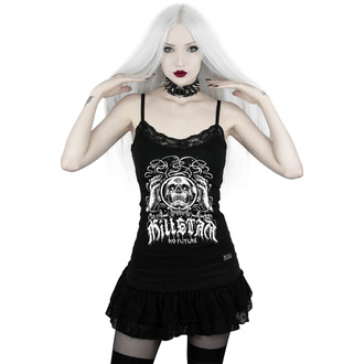 tílko dámské KILLSTAR - Clairvoyant Strappy - BLACK - KSRA001840