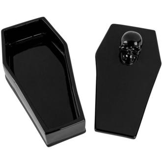 dekorace (krabička) KILLSTAR - Coffin - BLACK - KSRA001805