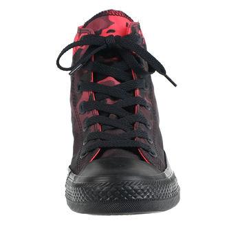 boty CONVERSE - CTAS HI SEDONA - RED/BLACK - 163242C