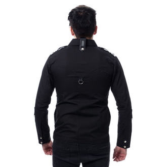 košile pánská VIXXSIN - COOPER - BLACK, VIXXSIN