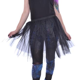 sukně dámská Poizen Industries - COR MIDI TUTU - BLACK, POIZEN INDUSTRIES