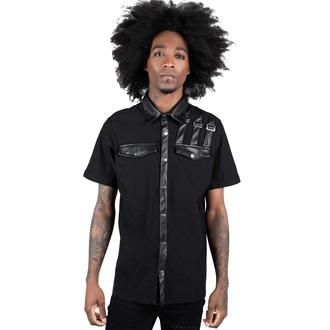 košile pánská KILLSTAR - Corporate Hell - Black, KILLSTAR