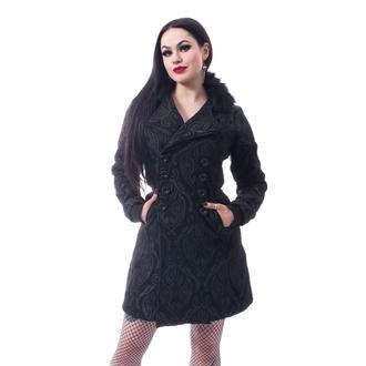 kabát dámský Poizen Industries - CRAFT COAT - BLACK, POIZEN INDUSTRIES