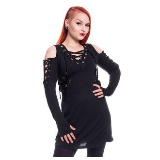 šaty dámské Poizen Industries - CRAVE - BLACK, POIZEN INDUSTRIES