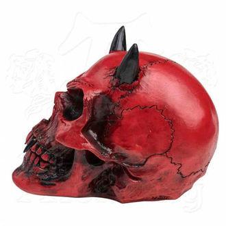 dekorace ALCHEMY GOTHIC - Crimson Demon Skull, ALCHEMY GOTHIC