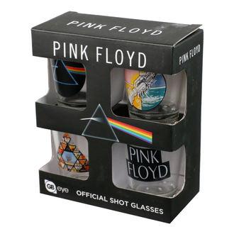 panáky (sada) PINK FLOYD - GB posters, GB posters, Pink Floyd