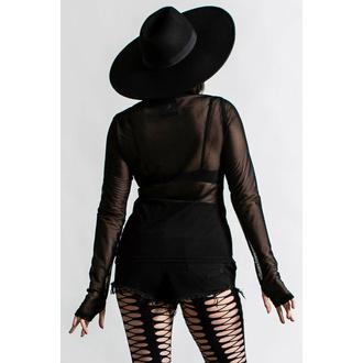 tričko dámské s dlouhým rukávem KILLSTAR - Cursed - Black, KILLSTAR