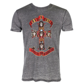 tričko pánské Guns N' Roses - Appetite For Destruction - ROCK OFF, ROCK OFF, Guns N' Roses