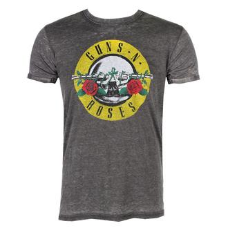 tričko pánské Guns N' Roses - Classic Logo - ROCK OFF, ROCK OFF, Guns N' Roses