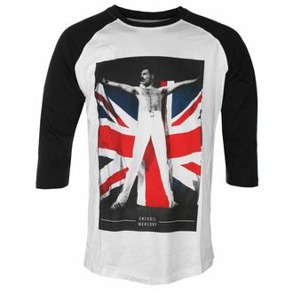 tričko pánské Freddie Mercury - Flag - ROCK OFF, ROCK OFF, Queen