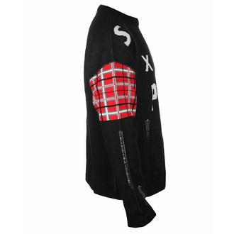 svetr pánský Sex Pistols - Distressed Tartan Logo- ROCK OFF - SPSWT01MB
