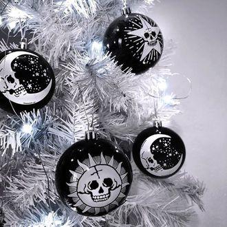 vánoční výzdoba (baňka) KILLSTAR - Hexmas - Black, KILLSTAR