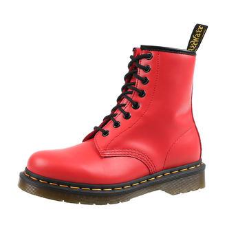 boty DR. MARTENS - 8 dírkové - 1460 SATCHEL - RED, Dr. Martens