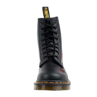boty dámské DR. MARTENS - 8 dírkové - VONDA 1460 - black softy, Dr. Martens