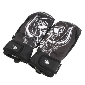 rukavice MOTÖRHEAD - Mountain Mitt - Black - 686, 686, Motörhead