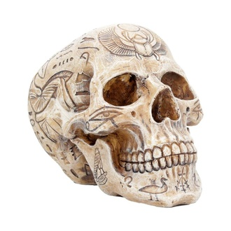 dekorace Hieroglyphic Skull - D4227M8