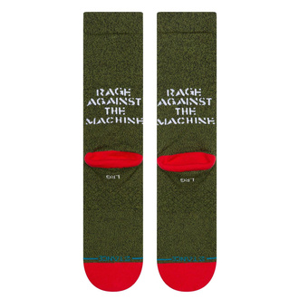 ponožky Rage against the machine - RENEGADES - ARMY GREEN - STANCE, STANCE, Rage against the machine