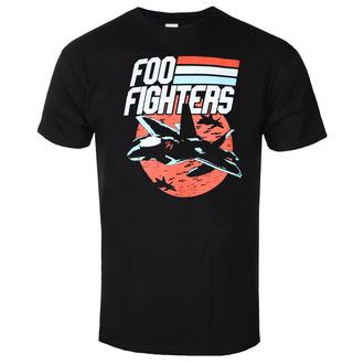 tričko pánské FOO FIGHTERS - JETS BLACK - PLASTIC HEAD - RTFFI1047