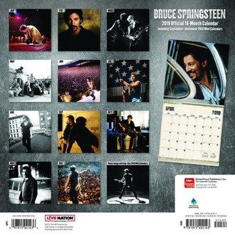 kalendář BRUCE SPRINGSTEEN, NNM, Bruce Springsteen