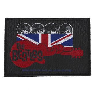 nášivka The Beatles - Union Jack Guitar - RAZAMATAZ, RAZAMATAZ, Beatles