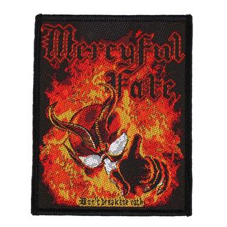 nášivka Mercyful Fate - Don't Break The Oath - RAZAMATAZ, RAZAMATAZ, Mercyful Fate