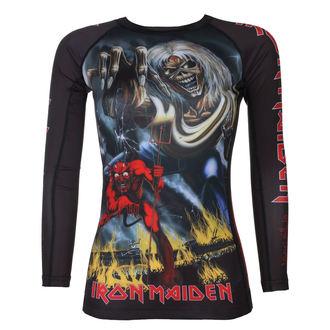 tričko dámské s dlouhým rukávem (technické) TATAMI - Iron Maiden - Number of the Beast - Rash Guard, TATAMI, Iron Maiden
