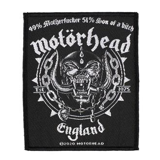 nášivka Motörhead - Ball & Chain - RAZAMATAZ, RAZAMATAZ, Motörhead