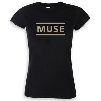 tričko dámské Muse - Logo - Black, NNM, Muse