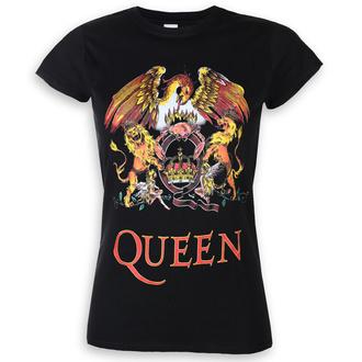 tričko dámské Queen - Classic Crest - ROCK OFF, ROCK OFF, Queen