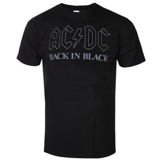 tričko pánské AC/DC - Back In Black - BL - ROCK OFF, ROCK OFF, AC-DC