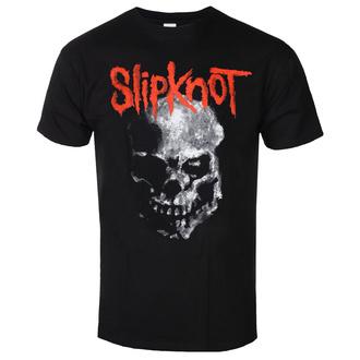 tričko pánské Slipknot - Gray Chapter Skull - BL - ROCK OFF, ROCK OFF, Slipknot