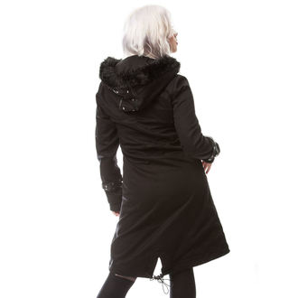 kabát dámský Poizen Industries - DARE - BLACK, POIZEN INDUSTRIES