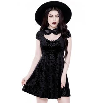 šaty dámské KILLSTAR - Darkla Skater - BLACK - KSRA001761