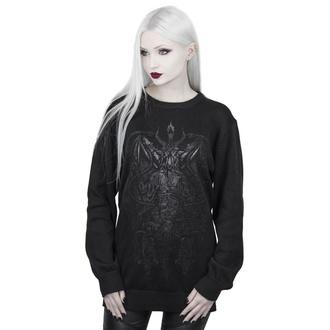 svetr dámský KILLSTAR - Dark Prince Knit - BLACK - KSRA001604