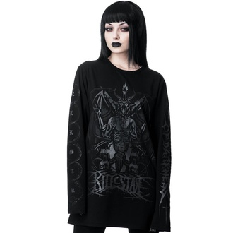 tričko dámské s dlouhým rukávem KILLSTAR - Dark Prince - BLACK - KSRA001590