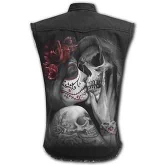 košile pánská bez rukávů SPIRAL - DEAD KISS, SPIRAL