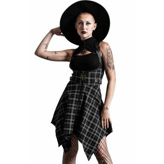 sukně dámská KILLSTAR - Dazed & Confused Suspender - ASH TARTAN, KILLSTAR
