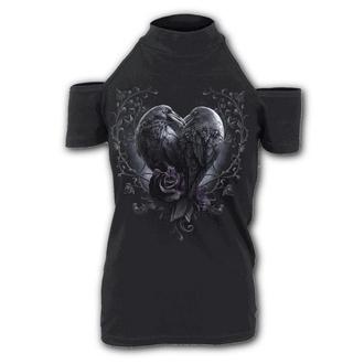 tričko dámské SPIRAL - RAVEN HEART, SPIRAL