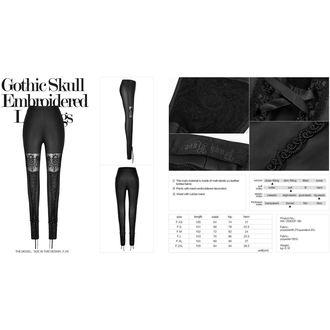 kalhoty dámské (legíny) PUNK RAVE - Dia de los Muertos - WK-293/BK