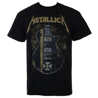 tričko pánské Metallica - Hetfield Iron Cross - Black - RTMTLTSBHET