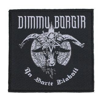 nášivka Dimmu Borgir - In Sorte Dlaboll - RAZAMATAZ - SPR2998